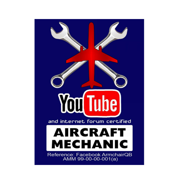 youtube certified aircraft mechanic decal jet goam